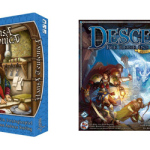 Adventskalender 18.12.2014 –  Hansa Teutonica 19,99€ & Descent 2. Edition 34,90€