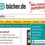 10€ Buecher.de Gutschein für ein Facebook Like (MBW60€)